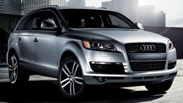 """Audi are monopol pe utilizarea literei """"Q"""" in sectorul auto"""