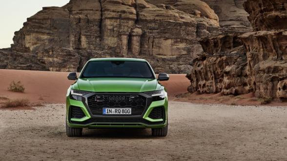 Audi prezinta RS Q8, cel mai puternic SUV coupe de pe piata