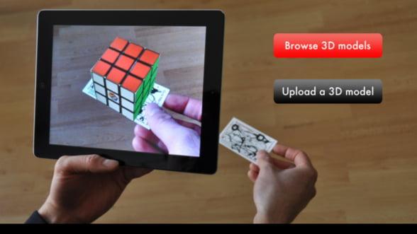 Augment - o excelenta aplicatie 3D pentru cumparaturi online