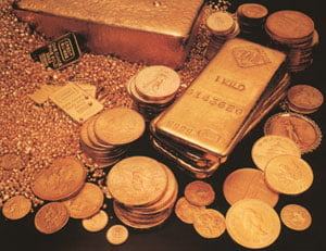 Aurul, argintul si platina au atins noi niveluri record