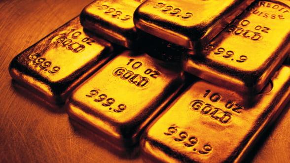 Aurul, principala sursa de venituri sigure in 2015