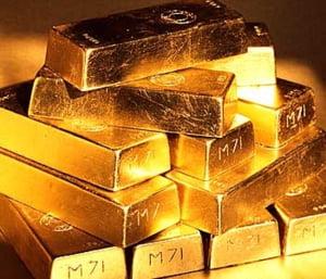 Aurul a atins un nou nivel record