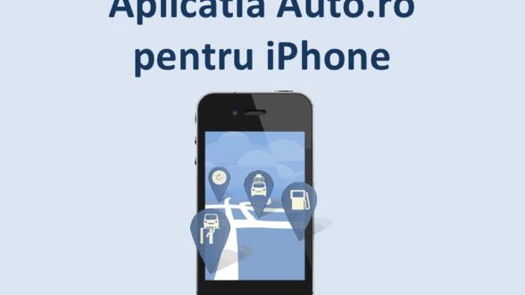 Auto.ro are aplicatie pentru iPhone: Android vine in doua luni