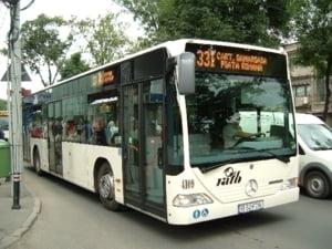Autobuzele RATB vor fi toate pe traseu marti