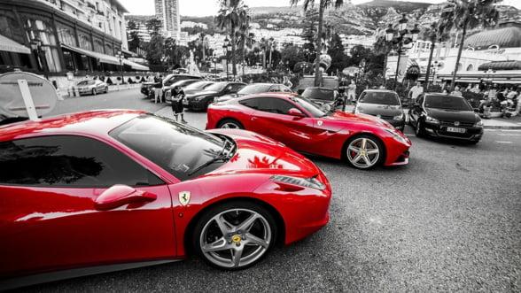 Automobilele Ferrari, o investitie mai profitabila decat actiunile