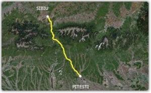 Autostrada Sibiu-Pitesti realizata cu fonduri europene