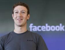 Averea fondatorului Facebook a mai crescut cu 5 miliarde de dolari, mai mult decat a oricarui alt miliardar