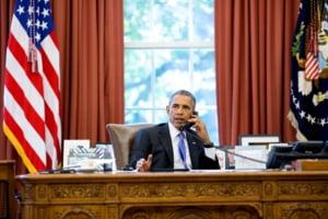 Avertismentul lui Obama pentru Putin: Nu cu ajutorul bombelor!