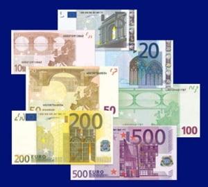 BCE: numarul bancnotelor de euro false a crescut puternic