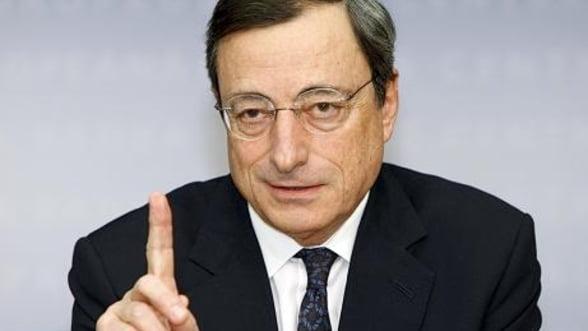 BCE someaza guvernele sa ia masuri. Dobanda cheie ramane neschimbata