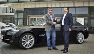 BMW Seria 7, noua masina a lui Gheorghe Hagi
