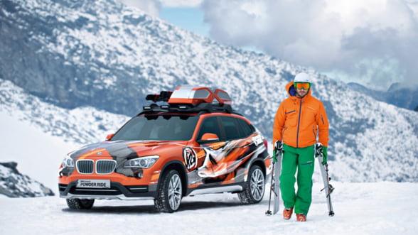 BMW X1 Power Ride: Ia-ti un SAV pregatit pentru partie!