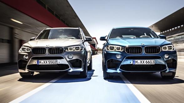 BMW X5M si X6M. Tu ce model ai alege pentru un drift?