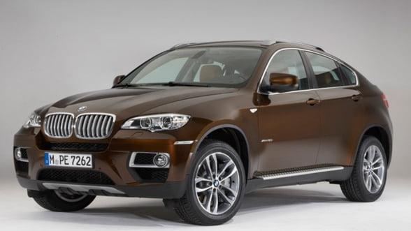 BMW dezvaluie noul SUV, 2013 BMW X6