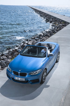 BMW iti propune o noua decapotabila pentru 2015: Seria 2 Cabrio