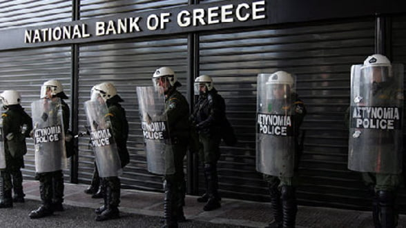 BNR: Bancile grecesti din Romania raman bine capitalizate