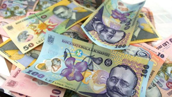BNR a imprumutat doua banci cu 353,5 milioane lei, prin licitatia repo