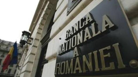BNR a modificat in jos, la 1,8%, proiectia inflatiei pentru al treilea trimestru