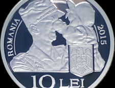 BNR bate moneda de argint la 70 de ani dupa al Doilea Razboi Mondial