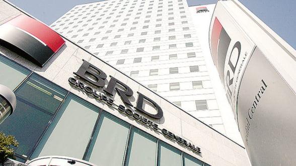 BRD si-a triplat profitul in primul trimestru, datorita scaderii provizioanelor