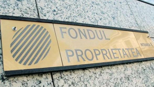BVB: Actiunile Fondului Proprietatea au scazut cu 3,6%