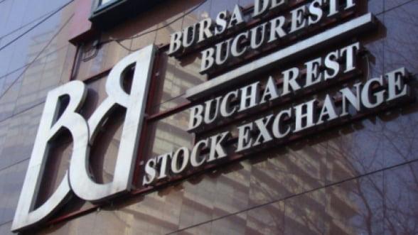 BVB a incheiat sedinta de luni in crestere cu 1%, pe un rulaj scazut