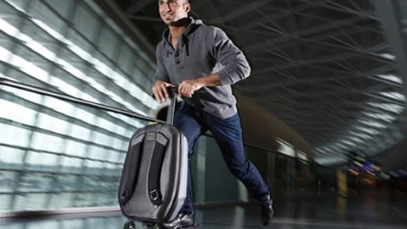 Bagajul-trotineta, valiza ce iti usureaza deplasarile in aeroport