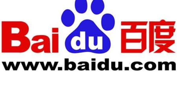 Baidu anunta un profit in crestere cu 75.9%