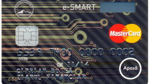 Banca Comerciala Carpatica lanseaza cardul cu display
