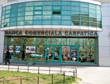 Banca Comerciala Carpatica si-a redus pierderile de peste patru ori in T1