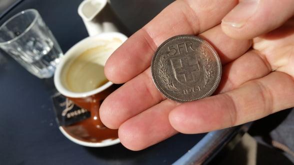 Banca Nationala a Elvetiei a castigat peste 2 miliarde de franci de pe urma ratelor negative ale dobanzii