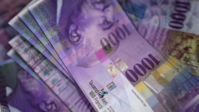 Banca Nationala a Elvetiei a raportat anul trecut un profit de peste 50 de miliarde de dolari