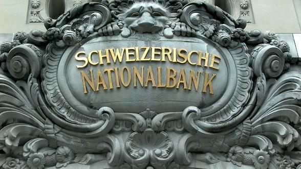 Banca Nationala a Elvetiei e pregatita sa opreasca aprecierea francului