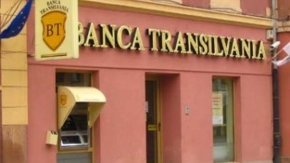 Banca Transilvania: profit in crestere cu 53%