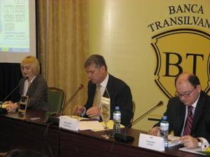 Banca Transilvania si-a majorat profitul net cu 40%