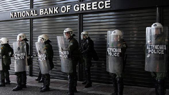 Bancile grecesti si-au redus imprumuturile de la BCE