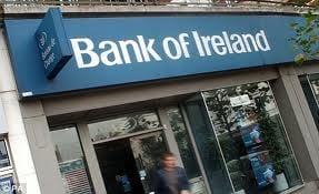 Bancile irlandeze, scoase la vanzare