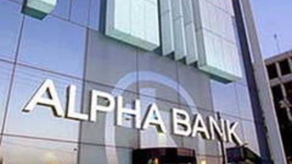 Bancomatele Alpha Bank nu vor functiona temporar sambata
