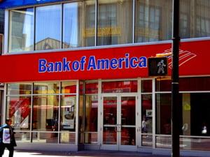 Bank of America a afisat pierderi de 5,2 miliarde dolari in T4