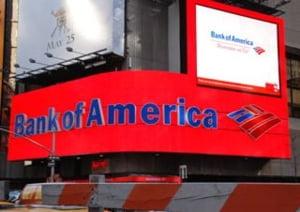 Bank of America a inregistrat o pierdere neta de 1 miliard dolari in T3