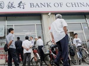 Bank of China a suspendat anumite tipuri de tranzactii cu bancile europene