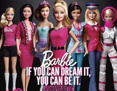Barbie implineste 60 de ani! Pana acum a incercat 200 de cariere, pentru a inspira fetitele sa fie orice isi doresc
