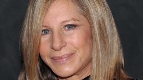 Barbra Streisand a castigat 1,7 milioane de euro in jumatate de ora