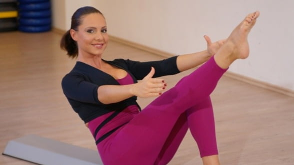 Barefoot training: Incearca cea mai noua forma de Pilates