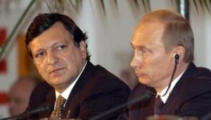 Barosso dezamagit de Putin, criza gazului reincepe?