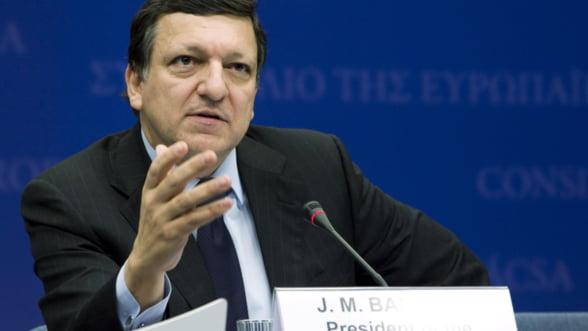 Barroso: Salut angajamentul premierului roman de a creste rata de absorbtie a fondurilor structurale