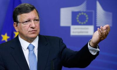"Barroso ""asteapta cu nerabdare sa coopereze cu Ponta si Basescu"""
