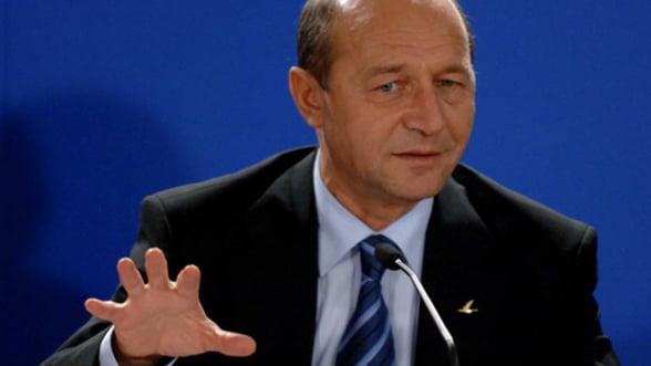 """Basescu: """"Romania are una dintre cele mai scazute fiscalitati din UE"""""""