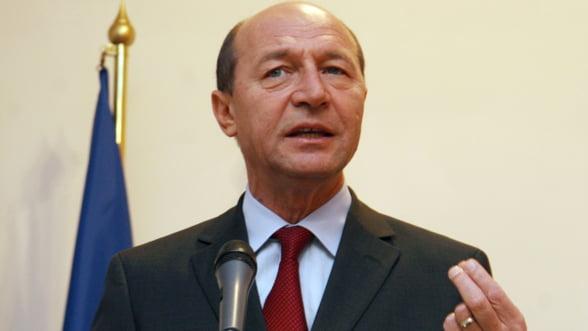 Basescu: Bancile nu finanteaza economia, trebuie noi garantii guvernamentale la creditarea IMM