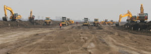 Basescu: Constructorii italieni ai autostrazii Bucuresti-Brasov sa foloseasca fier-beton din Romania